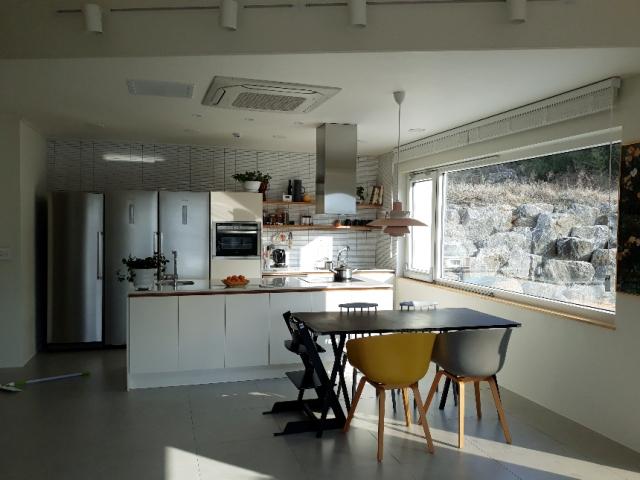 군산 성산면 개인주택 주방가구 시공